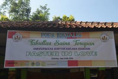 Dies Natalis Fakultas Sains Terapan UNSUR Tahun 2016
