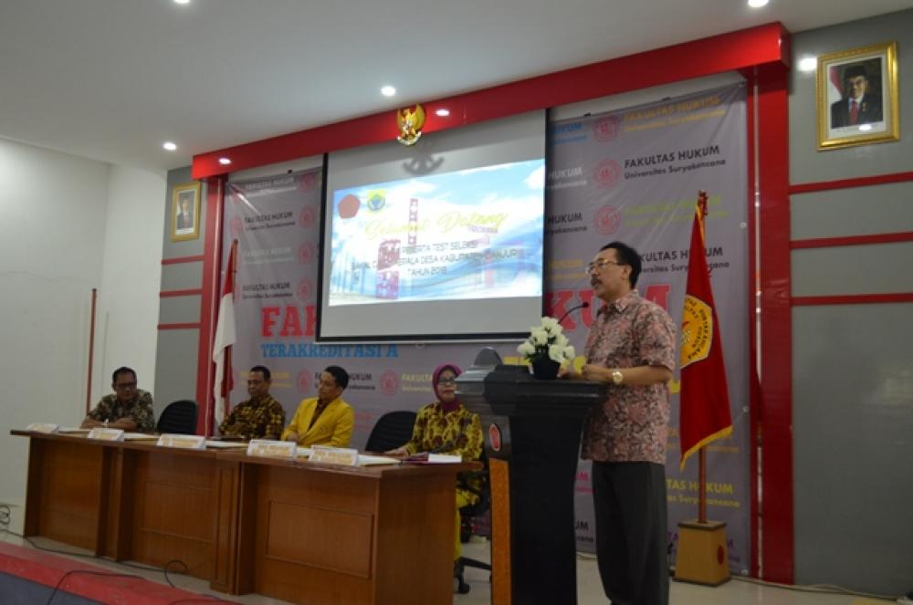 Test Seleksi  Bakal Calon Kepala Desa Kabupaten cianjur Tahun 2018