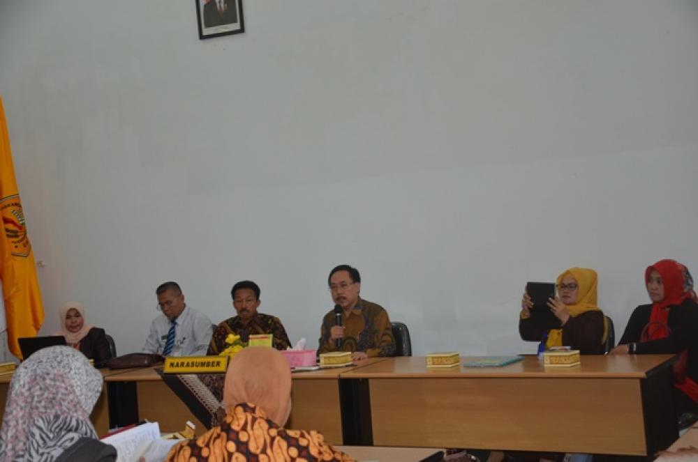 Kunjungan Ketua Yayasan Universitas Alghifari Bandung
