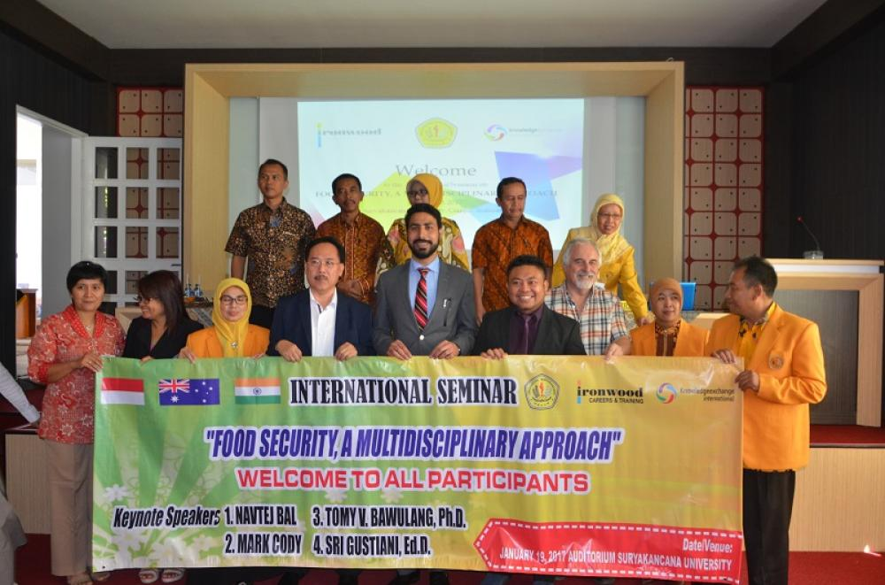 INTERNATIONAL SEMINAR FOOD SECURYTY, A MULTIDISCIPLINARY APPROACH