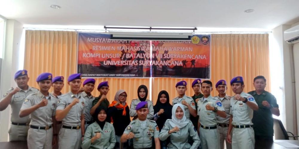 Resimen Mahasiswa Mahawarman Kompi Unsur/Batalyon VII Universitas Suryakancana