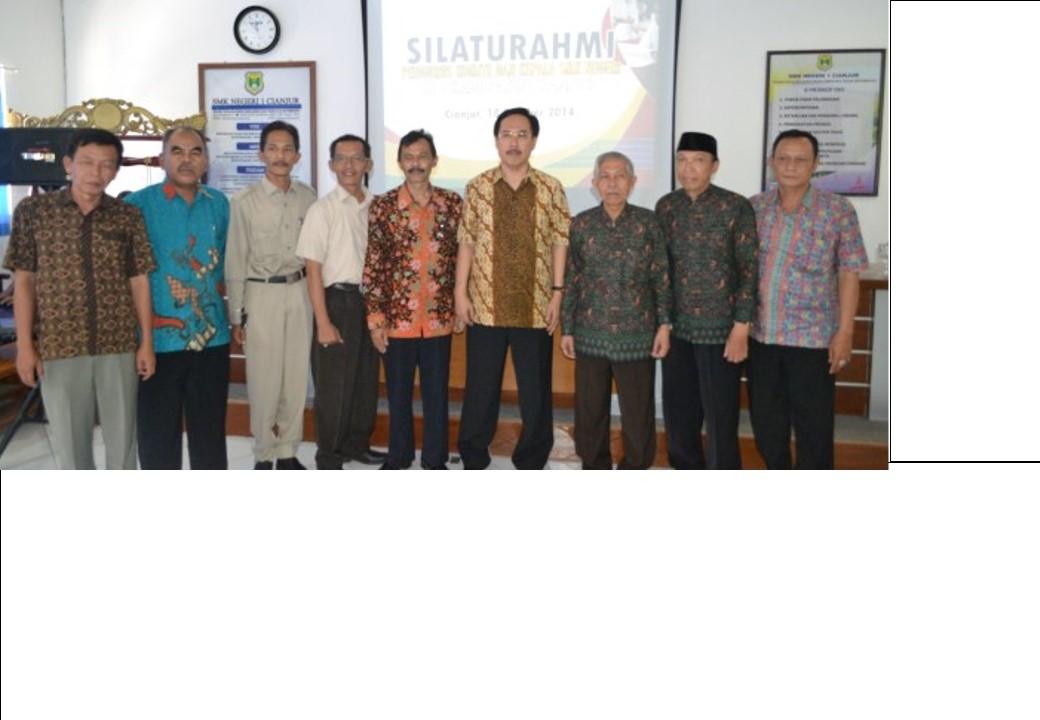 Silaturahim antara Komite Sekolah dengan para Kepala SMK se kabupaten Cianjur