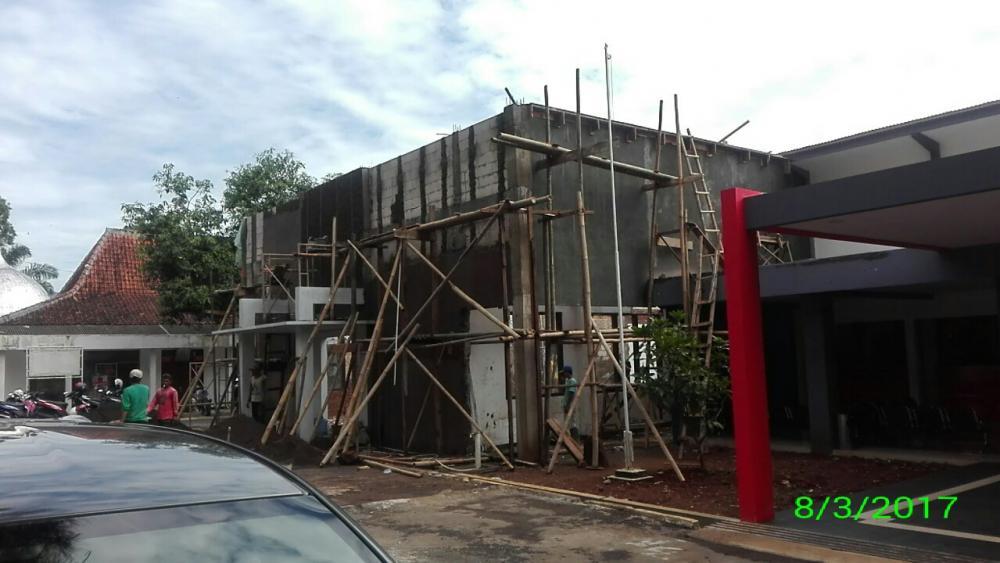 Pembangunan Tahap II dua Sudah Menuju Finishing